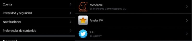 apps con acceso a twitter