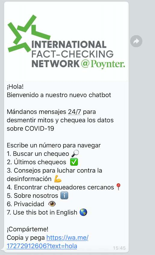 WhatsApp chat bulos