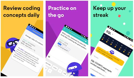 Codecademy Go aplicación