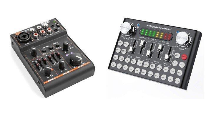 Consola de efectos de sonido
