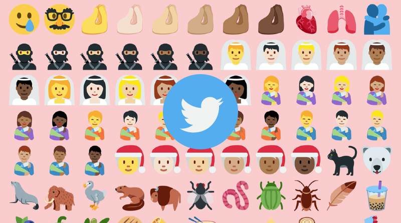 Emojis nuevos en Twitter