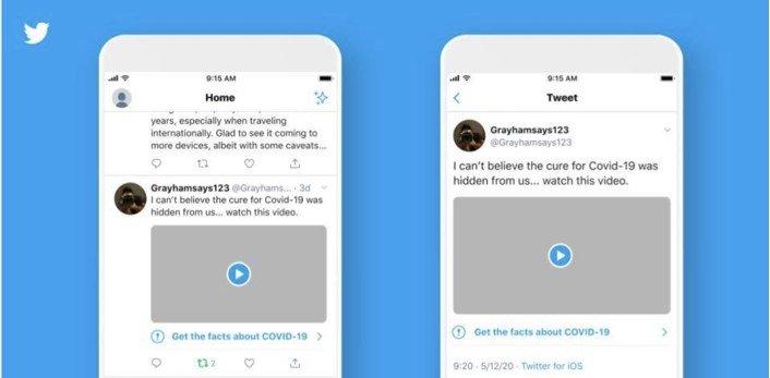 Twitter etiqueta los tuits