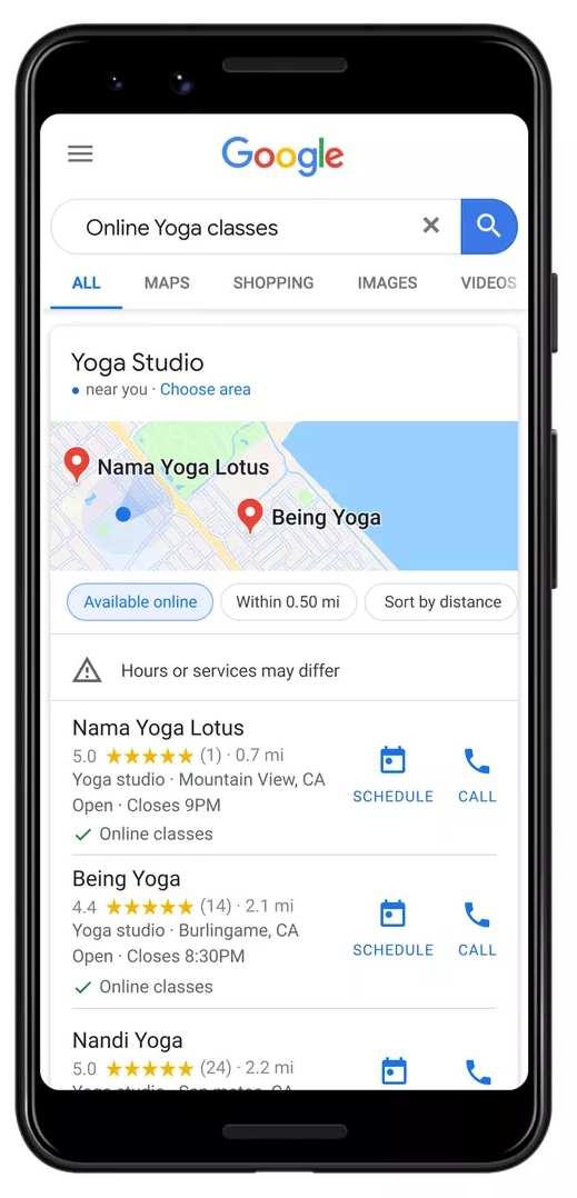 Servicios Online Google