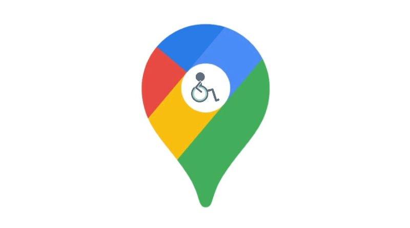 Google Maps lugares accesibles