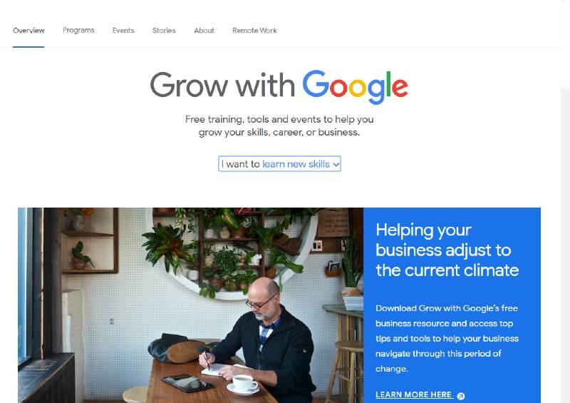 Grow with Google conocimiento digital