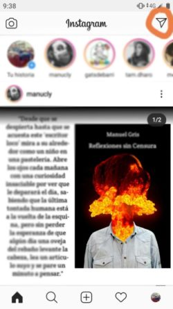 Instagram Mensajes Directos