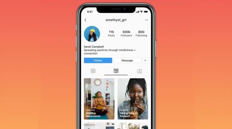 Instagram Guide consejos de salud mental