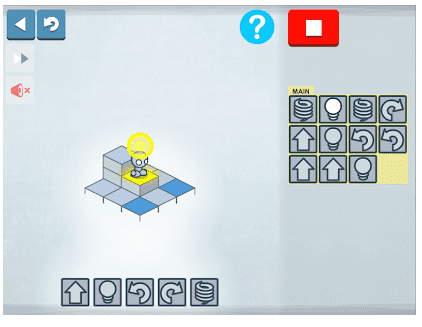 Lightbot para aprender a programar