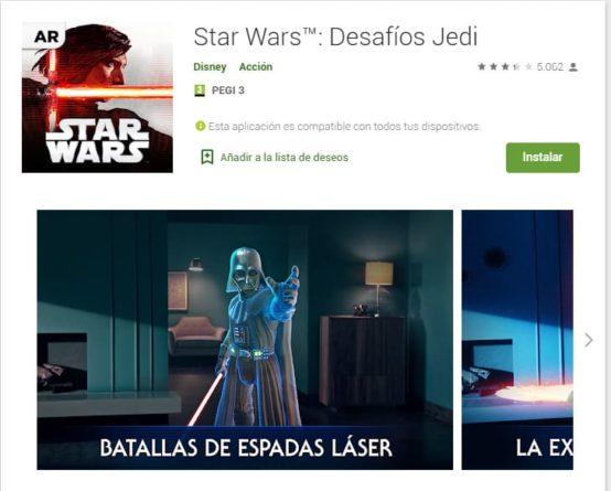 Star Wars: Desafío Jedi