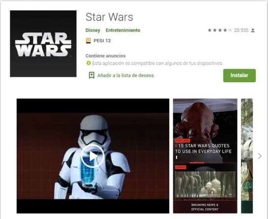 Star Wars origina