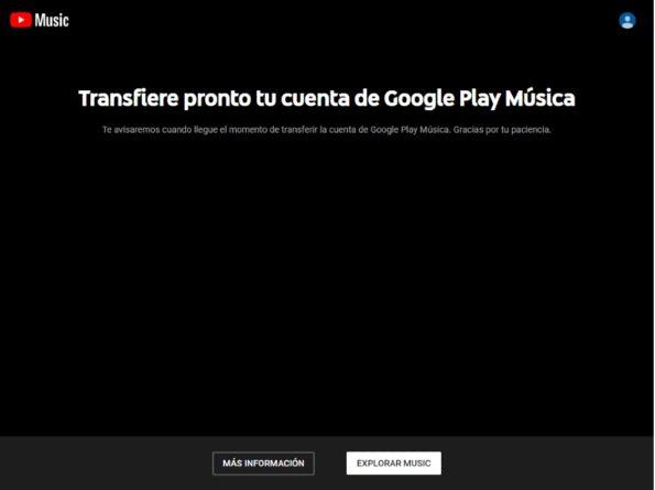 YouTube Musica Google Play Music