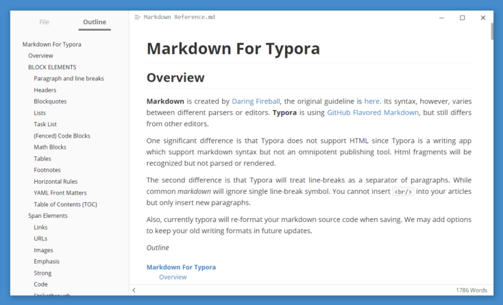 Typora editor de texto