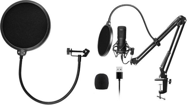 Micrófonos para podcasts