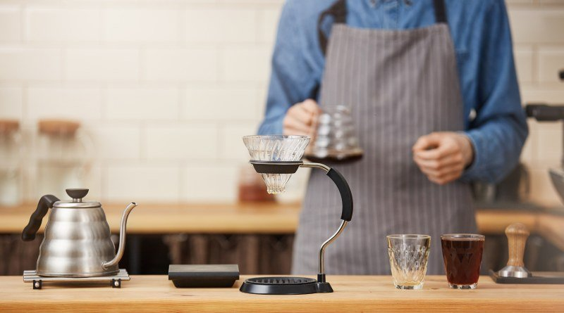 Receta para preparar café
