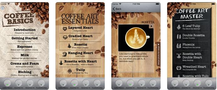 Arte de preparar café