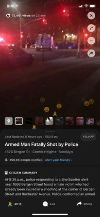 Vídeo en tiempo real Citizen