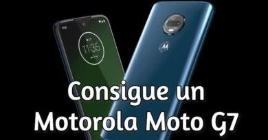 Concurso: Regalamos un Motorola Moto G7