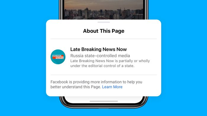 Facebook etiqueta gobierno