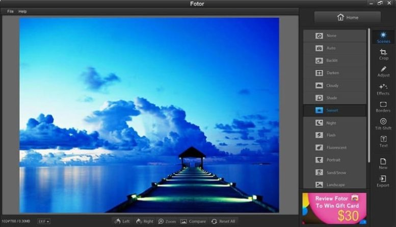 Fotor alternativa gratuita a Photoshop
