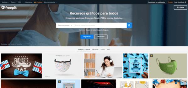 Freepik imágenes gratis para blog y noticias