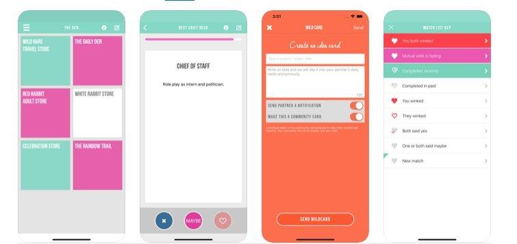 Apps eróticas para parejas