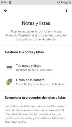 Selección de apps de notas