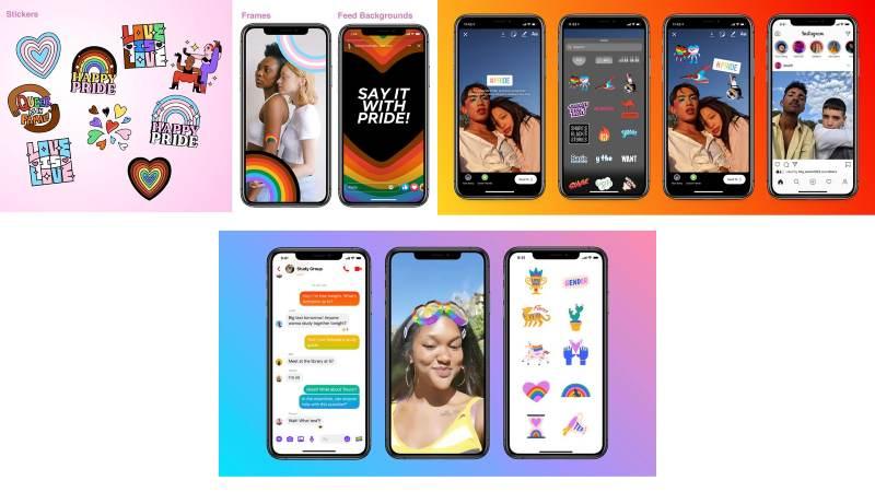 Funciones de Facebook para el mes del orgullo