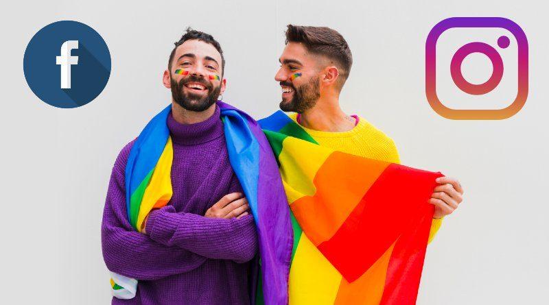 LGBTQIA+ Facebook Instagram