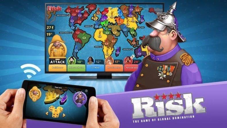 Risk, juego de tablero de estrategia