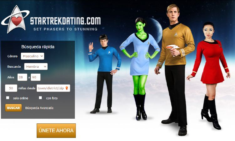 Red social cita amantes de Star Trek
