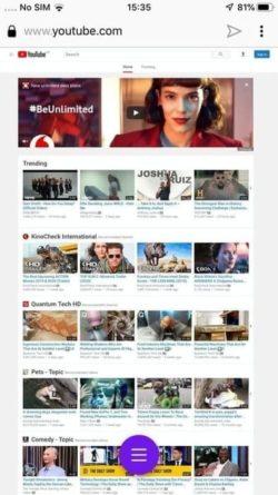 Abrir YouTube