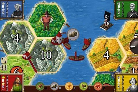 Catán, juego de tablero en Android e iOS