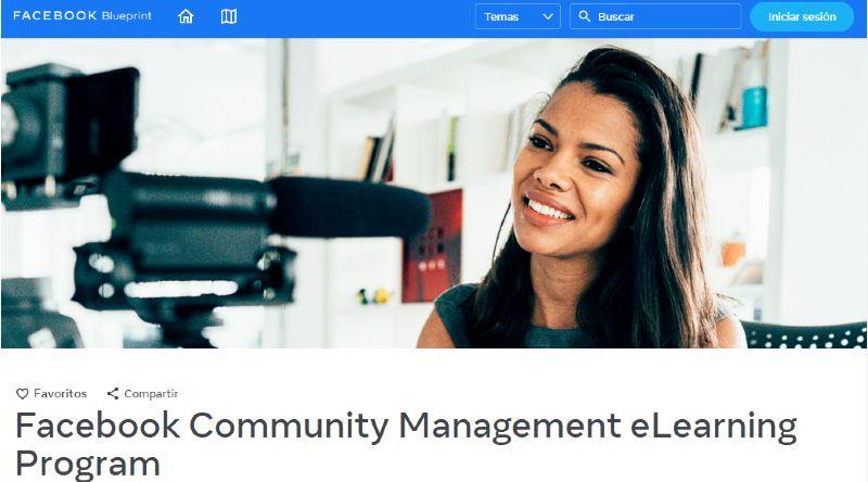 Gestión Comunitaria Facebook Blueprint