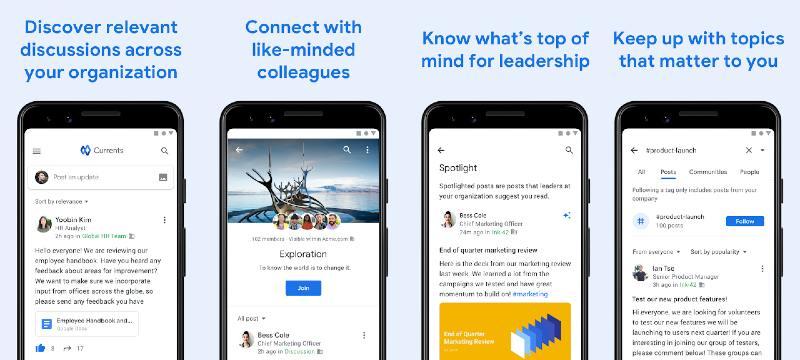 App Google Currents
