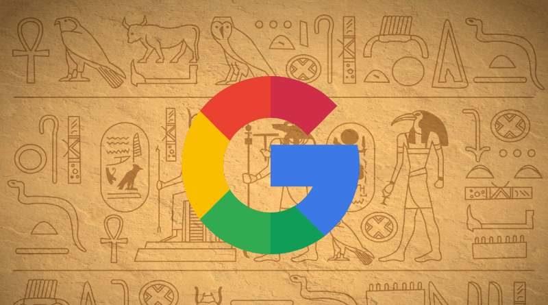 Google Jeroglificos Egipcios