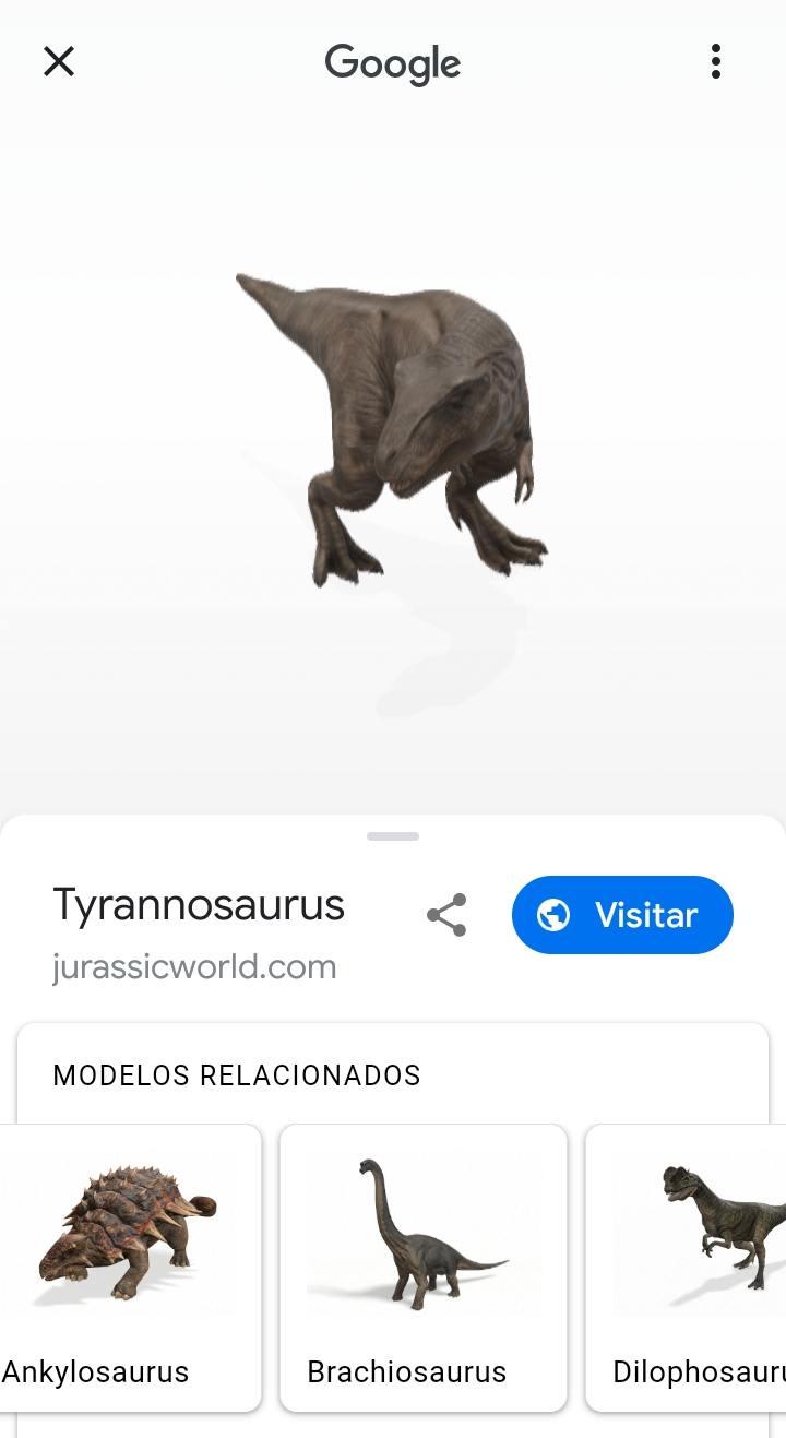 Google Dinosaurios