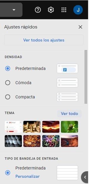 Temas Gmail