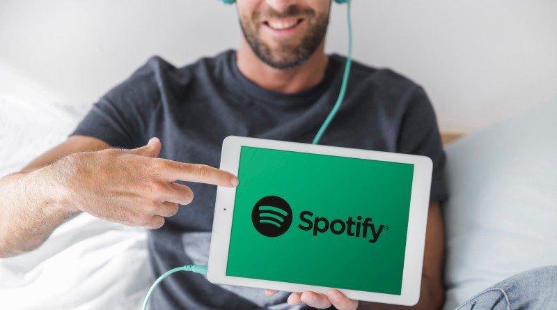 Spotify música en podcasts