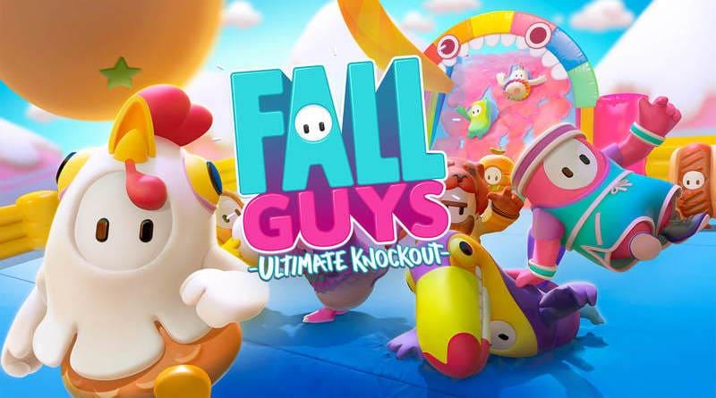 Fall Guys juego multijugador masivo de pruebas alocadas