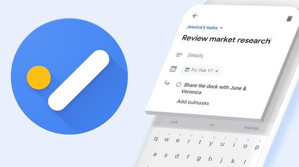 Google Tasks para listas de tareas