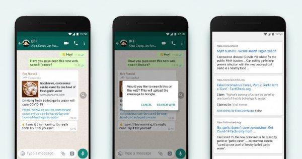 WhatsApp Reenvio Mensajes