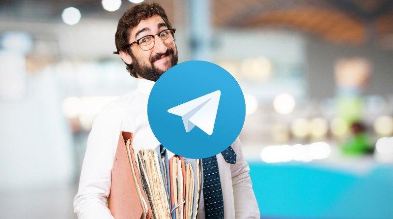 Ordenar carpetas Telegram