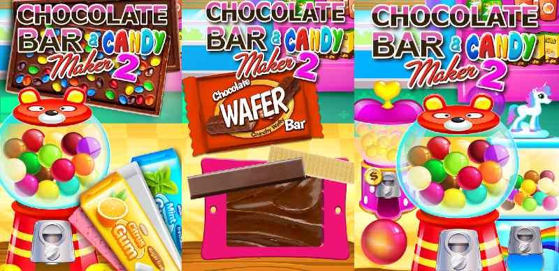 Caramelos y dulces de cacao