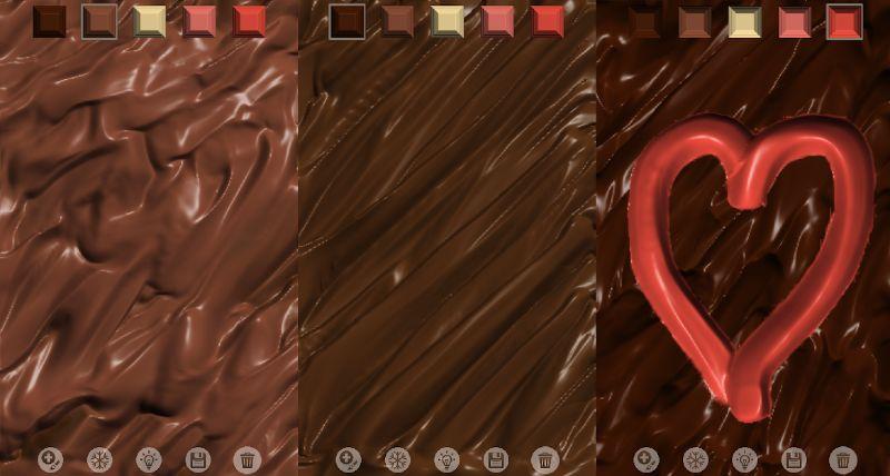 Jugar con chocolate