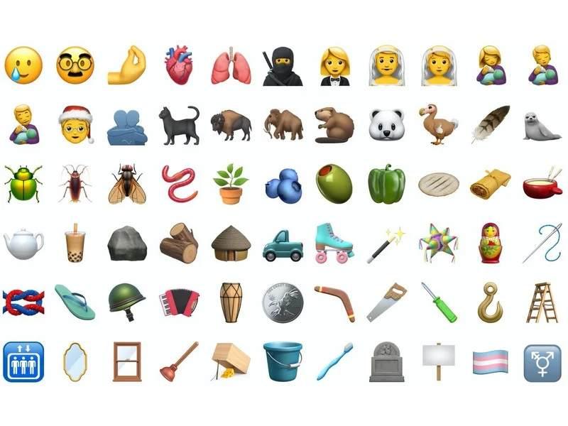 Emojis iOS beta 14.2
