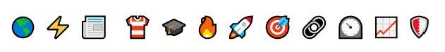 Asunto correos emojis