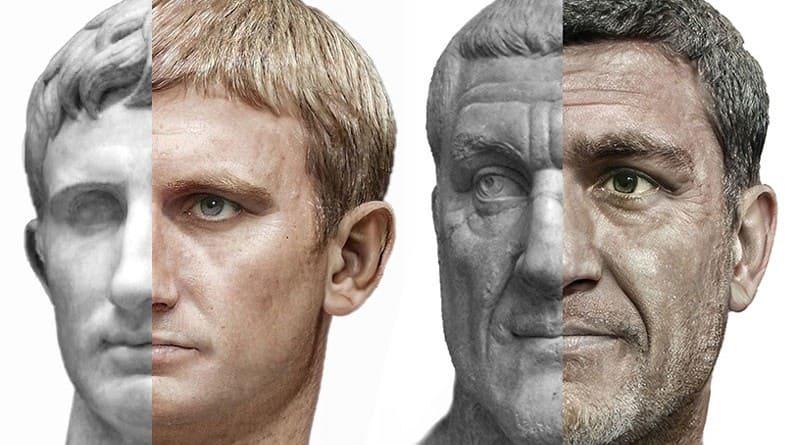 Artbreeder IA emperadores romanos