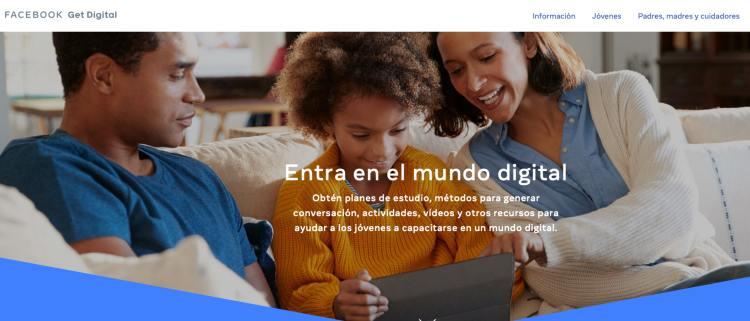 Facebook lanza cursos para menores