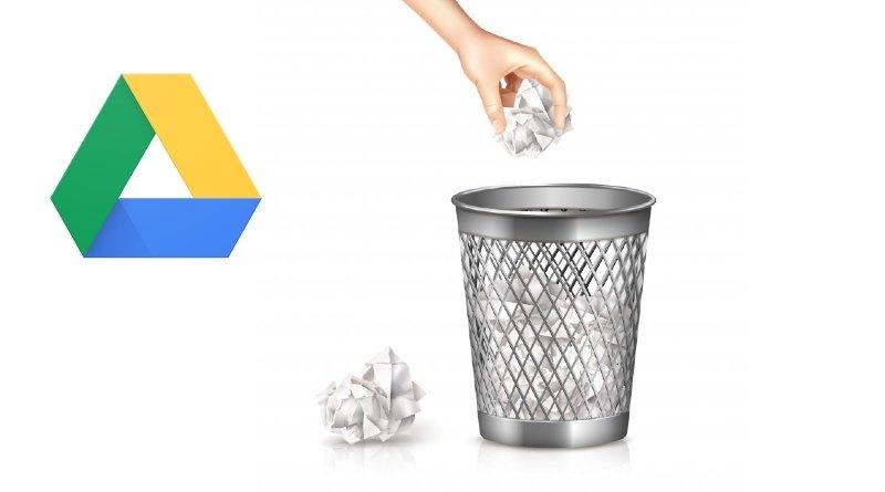 Google Drive Borrar automáticamente