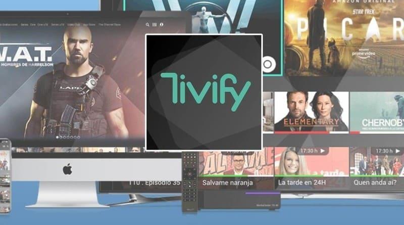 Tivify televisión por Internet